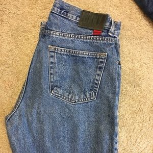DKNY Women's Jeans Medium Wash Fade Boot Cut Sz 12